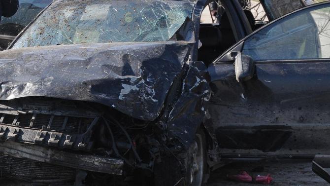 Жена е в болница след катастрофа между две коли в Обзор