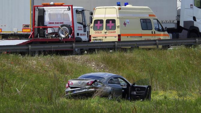 Автомобил самокатастрофира на Ботевградско шосе в София