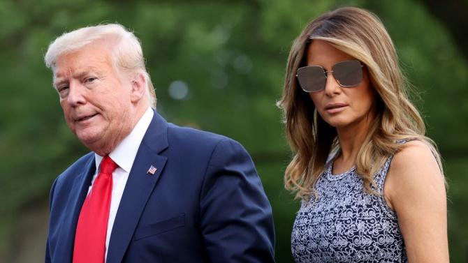 Тръмп се скара на Мелания, че не се усмихва