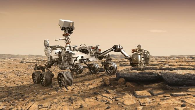 """НАСА изстрелва марсохода """"Пърсивиърънс"""" на 17 юли"""