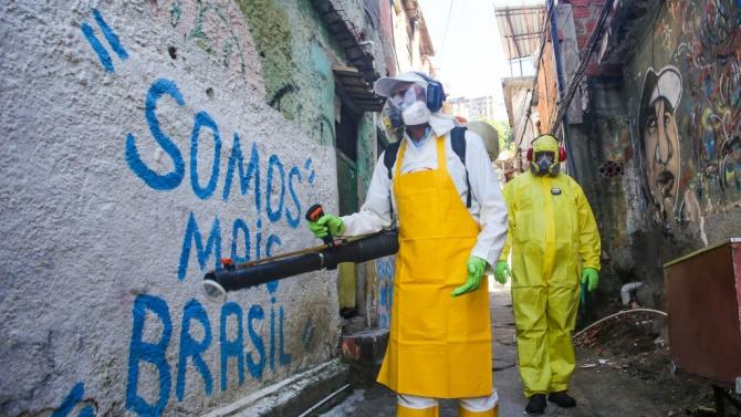 Епидемията от коронавируса в Бразилия се разраства