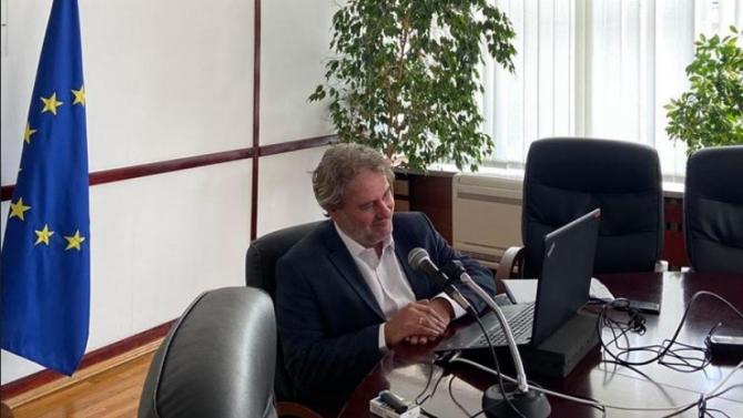 Министърът на културата Боил Банов Боил Банов е министър на