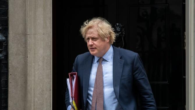 Британският премиер Борис Джонсън, че надвиването на пандемията от коронавирус