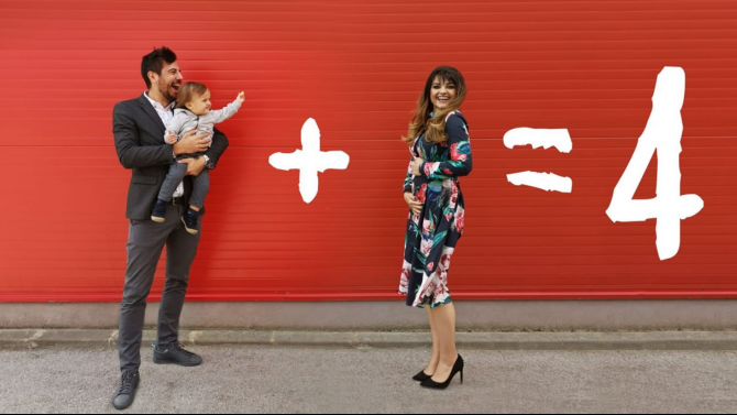 Петя Дикова и Илиян Любомиров очакват второ дете