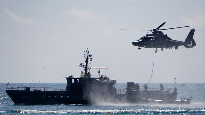 """Годишното тактическо учение на Флотилията бойни и спомагателни кораби """"Черно"""