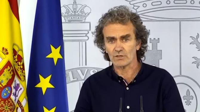 Говорителят на Щаба в Испания: Не е разумно да се говори за 43 000 жертви