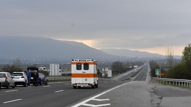 Възстановено едвижението в скоростната лента при км 168 на АМ