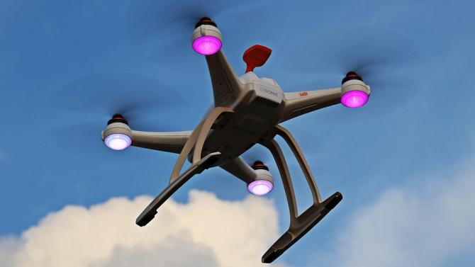Ирландски учени създадоха дрон, който стерилизира публични пространства