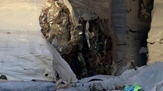 Вижте двата тира боклук, загробени край Червен бряг