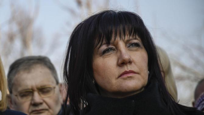 Караянчева изрази своите съболезнования към близките и роднините на академик Воденичаров