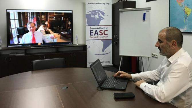 Председателят на Управителния съвет на ЕАЦС Цветан ЦветановЦветан Генчев Цветанов
