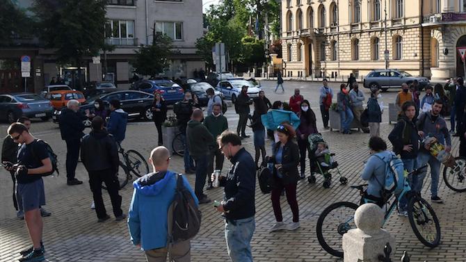 Рибари на протест в София заради замърсяването на реките