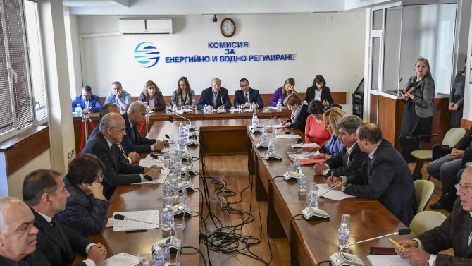 Комисията за енергийно и водно регулиране (КЕВР) прие решение за