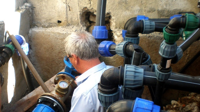 Ремонтът на авариралия централен водопровод във Велико Търново ще продължи