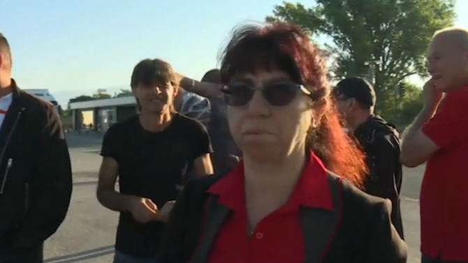 Търговци и вносители на гръцки зеленчуци излязоха на протест на