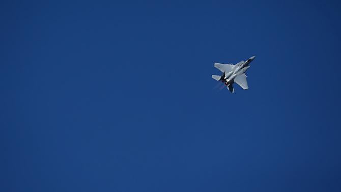 Американски изтребител F-15 се разби край английския бряг