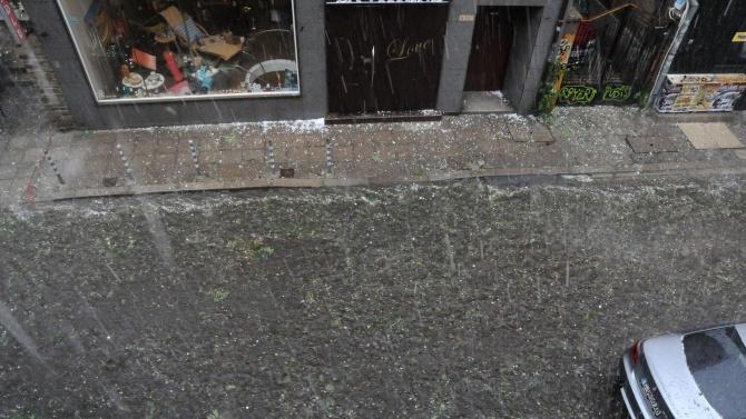 България днес бе в плен на лошото време. Силни дъждове