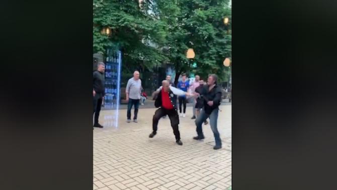 """Туристка, заснела сбиване на """"Витошка"""": Мама миа! Добре дошли в България!"""