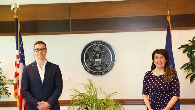 Шефът на БНР на среща с американския посланик