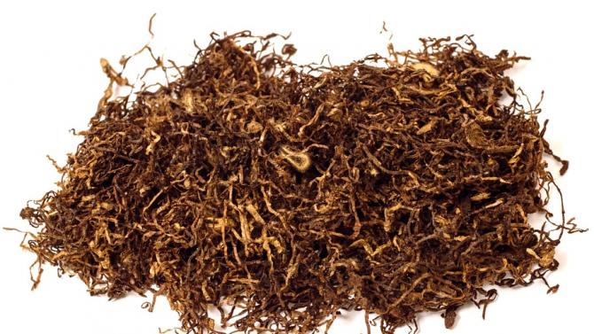 Близо 7 кг тютюн са иззели служителите на реда от