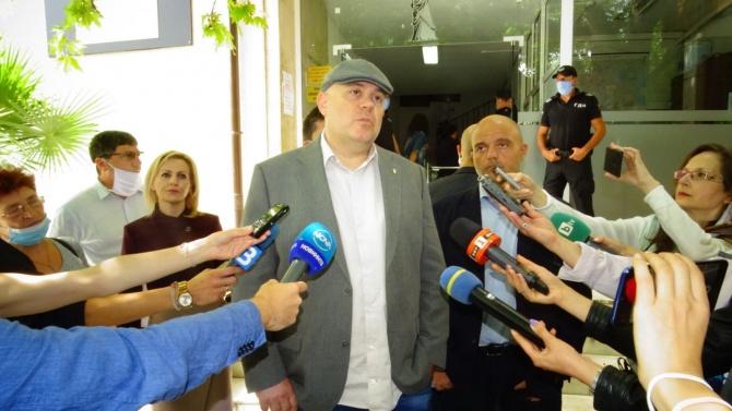 Гешев с коментар за връзките на секретаря на президента Пламен Узунов с Пламен Бобоков