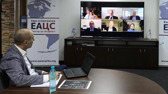 Цветан Цветанов участва в онлайн среща за глобалните предизвикателства пред киберсигурността