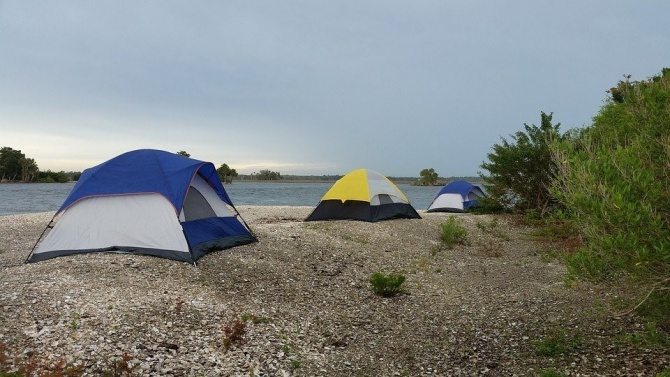 Палаткаджии отнесоха солени глоби за къмпингуване на Карадере