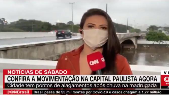 Заплашиха с нож и обраха репортерка по време на живо излъчване