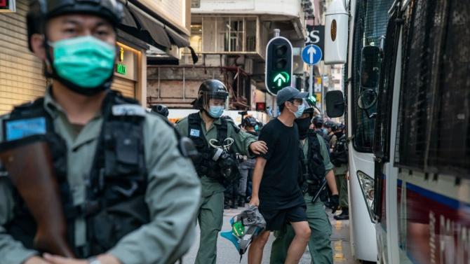 Първи арест в Хонконг по силата на новия закон за сигурността