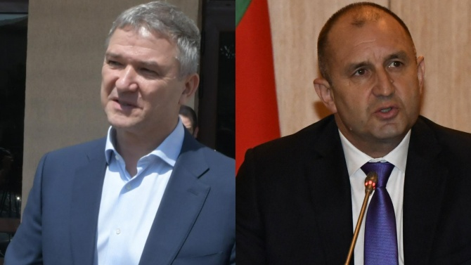 Прокуратурата пусна чат на Пламен Бобоков с Prezident - Rumen Radev