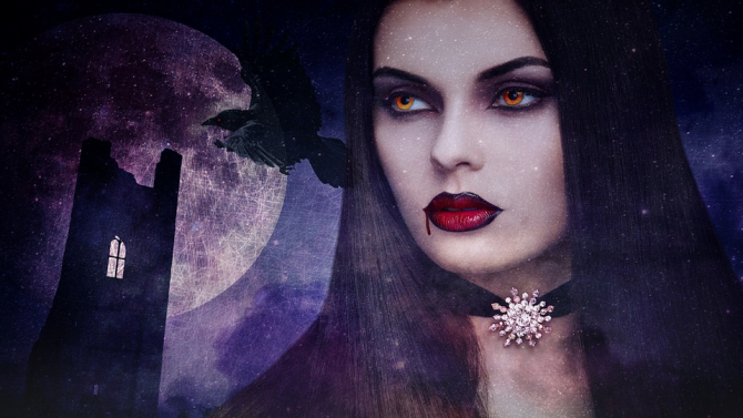 Митът за вампирите се основава на реално заболяване на кръвта,