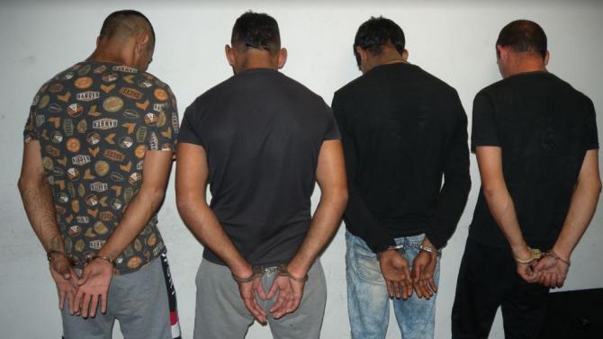 Общо седем криминално проявени лица на различна възраст са задържани