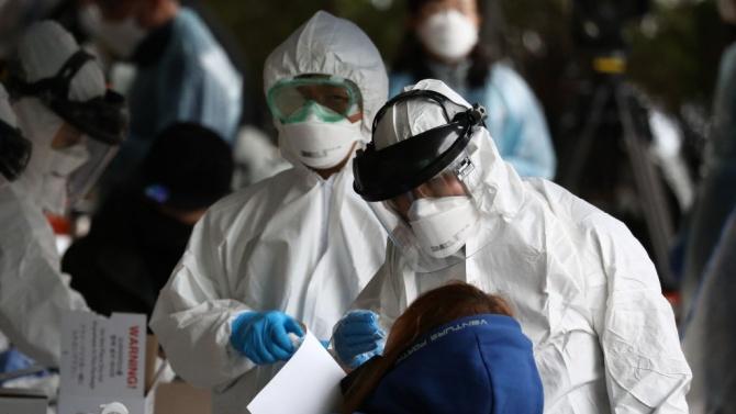 Южна Корея регистрира 63 нови случая на заразяване с коронавирус