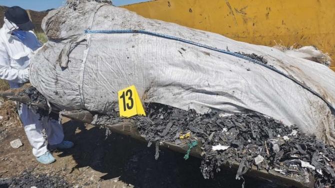 Повече от 120 тона достигнаха незаконно загробените отпадъци, открити в