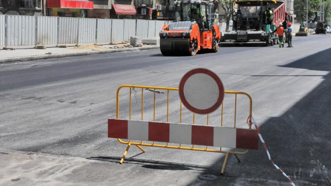 "Ремонтни дейности на уличната мрежа има в квартал ""Средна кула"""