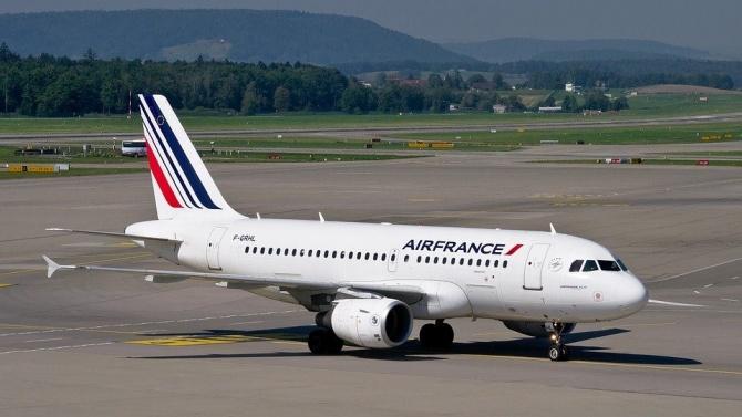 """""""Ер Франсе"""" (Air France) и дъщерното дружество на авиокомпанията Air"""