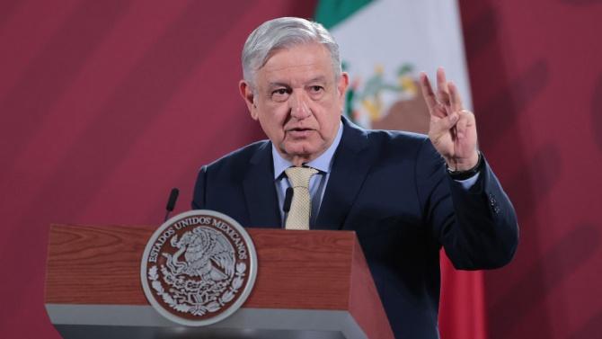 Президентът на Мексико Лопес Обрадор обеща да не влиза в