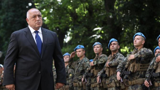 Борисов пред Спецсилите: Това, което съм ви обещал, е изпълнено