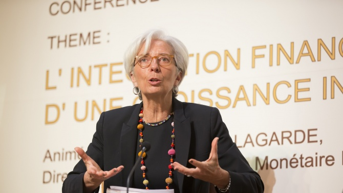 Кристин Лагард: Кризата ще промени дълбоко икономиките