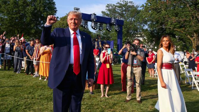 Тръмп обеща победа над радикалната левица в САЩ