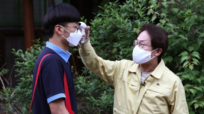 Южна Корея регистрира над 60 нови случая наCOVID-19 за трети