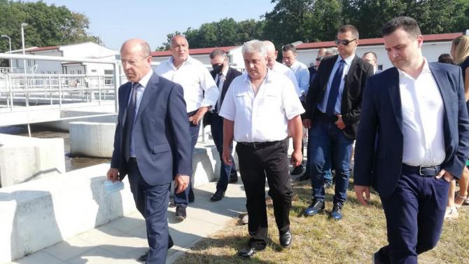 Борисов на пречиствателната станция в Китен: Предоставяме най-чистото море, всяка капка вода е чиста като сълза