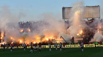 Девет задържани преди финала на Купата на България