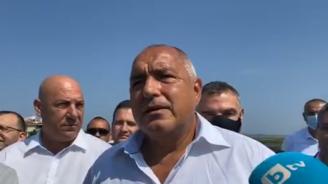 Борисов откри обходния път на Поморие и обяви: Няма да коментирам ченгеджийските номера на Радев