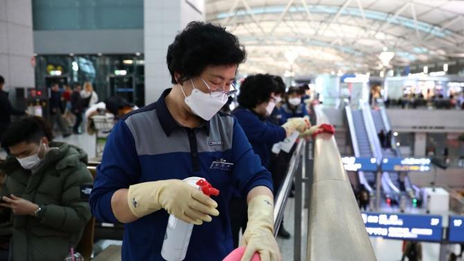 Южнокорейските медици са установили 48 нови случая на коронавирус за