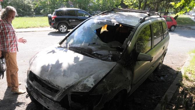 Автомобил изгоря тази нощ в Бургас