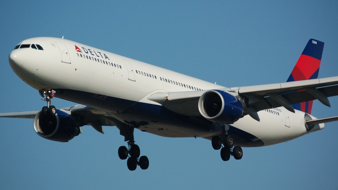 """Airbus A319 на Delta Airlines кацна аварийно на летище """"Джон"""