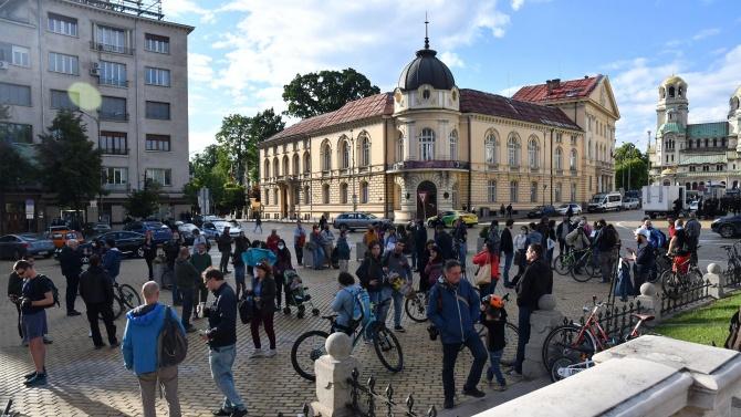 Екопротест в центъра на София