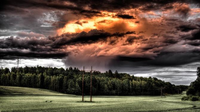 Бурите не са често срещано явление в този период на