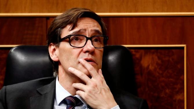 Министърът на здравеопазването на Кралство Испания Салвадор Ия призна в